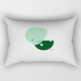 Turtlin' power Rectangular Pillow