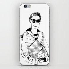 Bag Lady iPhone & iPod Skin