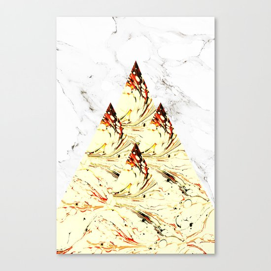 Glory Mountains Canvas Print