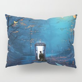 Tardis Lost In The Forest Pillow Sham