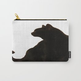 Halloween Black Cat Silhouette  Carry-All Pouch