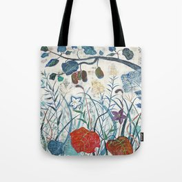 nature【Japanese painting】 Tote Bag