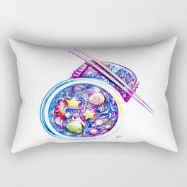 Galaxy Flavored Ramen Rectangular Pillow