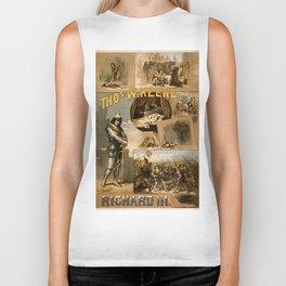 Vintage Richard III Theatre Poster Biker Tank
