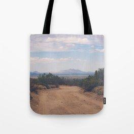 Down Desert Roads Tote Bag