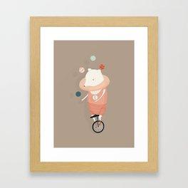 Danika Puts on a Show Framed Art Print
