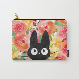 Jiji in Bloom Carry-All Pouch