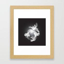 Petal Mesh I Framed Art Print