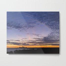 Cleveland Skyline #5 Metal Print
