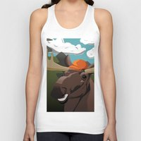 hunting Tank Tops featuring Hunting Season by Pajarito