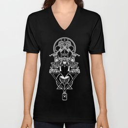 POISON LOVE Unisex V-Neck