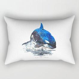 You're Never Nothing Rectangular Pillow