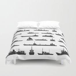 Ships Duvet Cover