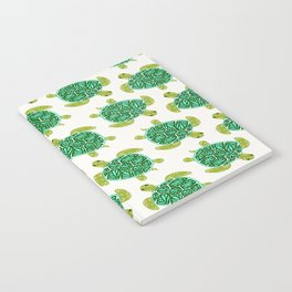 Sea Turtle – Green Palette Notebook
