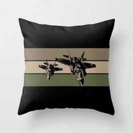 F-35 Stealth Fighters Throw Pillow