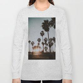 palm trees vi / venice beach, california Long Sleeve T-shirt