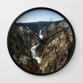 The Lower Falls Wall Clock