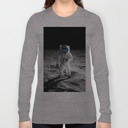 Buzz Aldrin Long Sleeve T-shirt