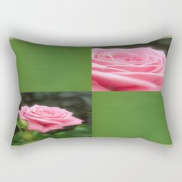 Pink Roses in Anzures 3 Blank Q5F0 Rectangular Pillow