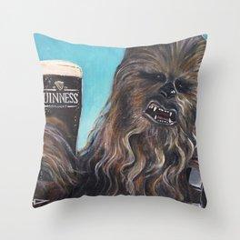 Brewbacca Throw Pillow