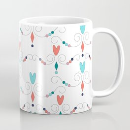 Heart Doodles Coffee Mug