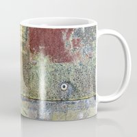 heavy metal Mugs featuring Heavy Metal by Bestree Art Designs