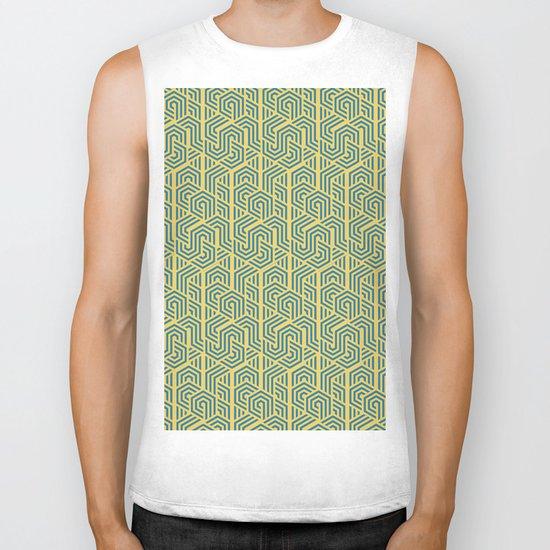 Pattern Vibes Biker Tank