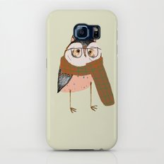 Owls Love Scarfs.  Galaxy S7 Slim Case