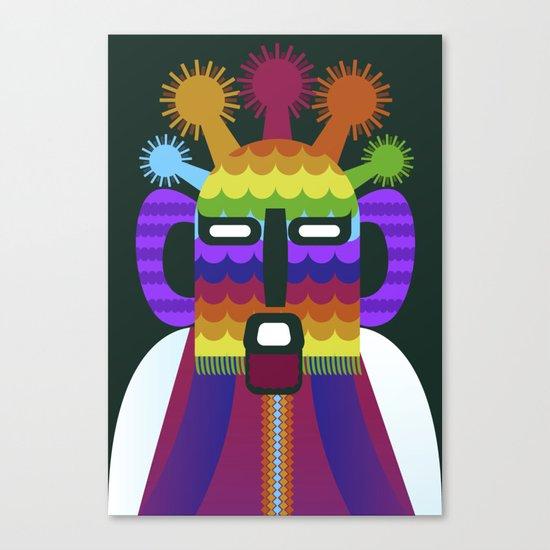 Aya huma Canvas Print