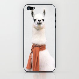 Lama Art Print iPhone Skin
