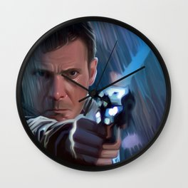 Deckard. B26354. Wall Clock