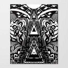 Sacred Pyramid Energy Canvas Print