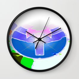 The Only Way is Up Wall Clock