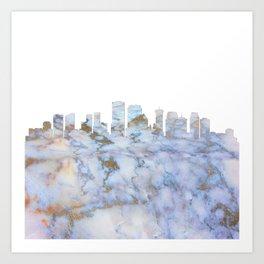 New Orleans Skyline Louisiana Art Print
