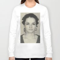 mom Long Sleeve T-shirts featuring MOM by Lamiapetitedollrosa