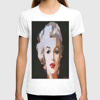 monroe T-shirts featuring Monroe by The Art Of Gem Starr