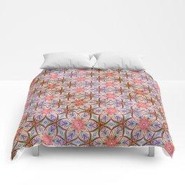 Pink Star Comforters