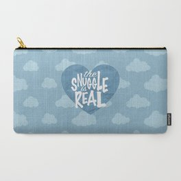 The Snuggle Is Real (Cloud Edition) Carry-All Pouch