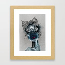CROWNED Framed Art Print