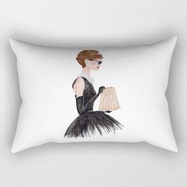 Breakfast at Tiffany's Rectangular Pillow