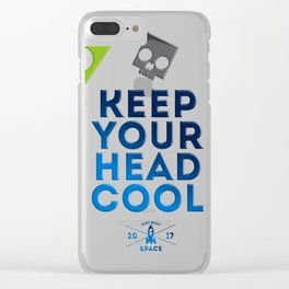 Keep Your Head Cool Clear iPhone Case