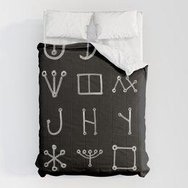 Heinrich Cornelius Agrippa Of Occult Philosophy 1651 Malachim Alphabet Collected Inverted Comforters