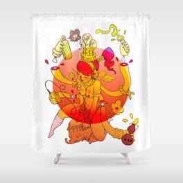 Naga Boo Shower Curtain