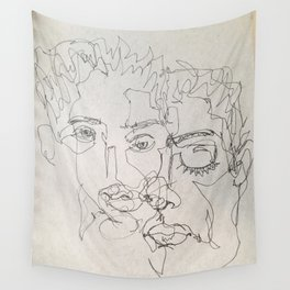 Blind Contour Wall Tapestry