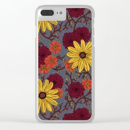 Bittersweet Susans Clear iPhone Case