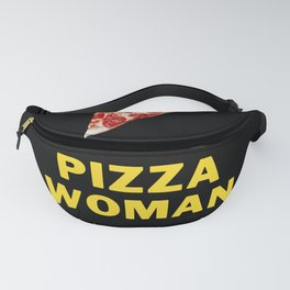 pizza woman Fanny Pack