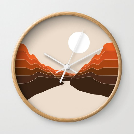 Desert Dusk Ravine by circa78designs