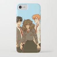 johannathemad iPhone & iPod Cases featuring golden trio by JohannaTheMad
