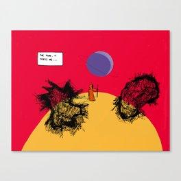Tricks Canvas Print