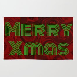 Merry Xmas 4 Rug